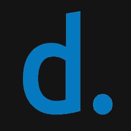 Schwarz Logo blau