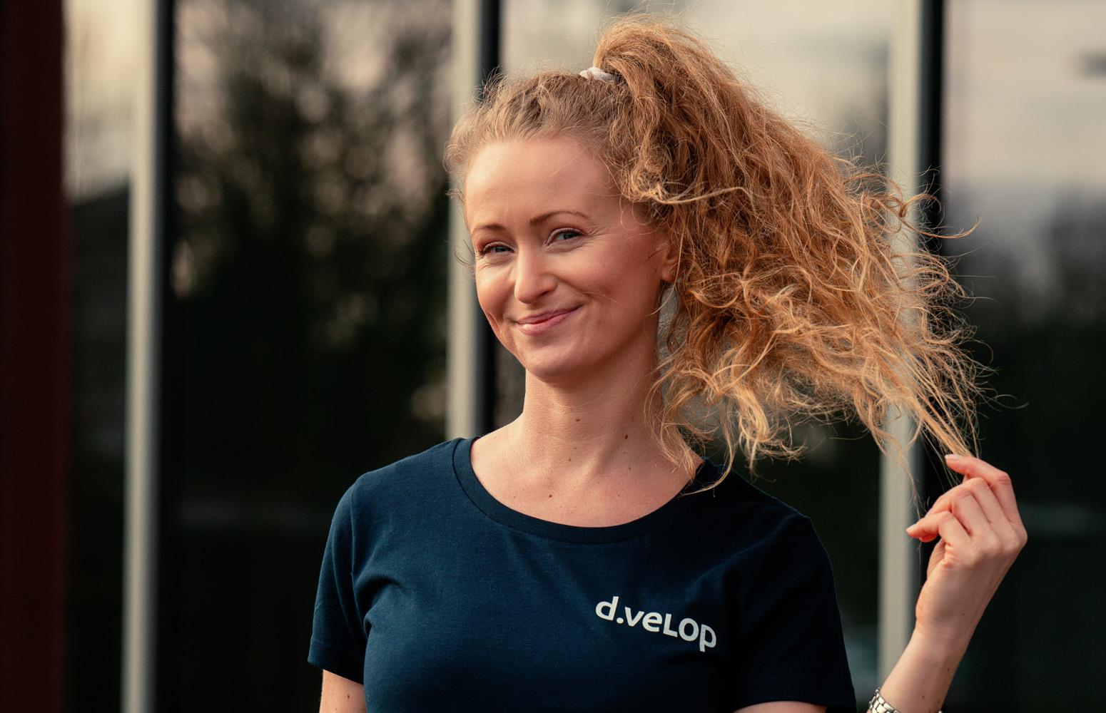 d.velop Frauen T-Shirt